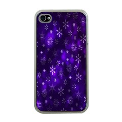 Bokeh Background Texture Stars Apple Iphone 4 Case (clear)