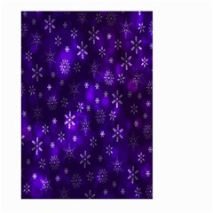 Bokeh Background Texture Stars Large Garden Flag (two Sides)