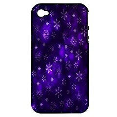Bokeh Background Texture Stars Apple Iphone 4/4s Hardshell Case (pc+silicone)