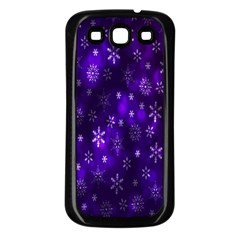 Bokeh Background Texture Stars Samsung Galaxy S3 Back Case (black)