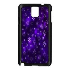 Bokeh Background Texture Stars Samsung Galaxy Note 3 N9005 Case (black)