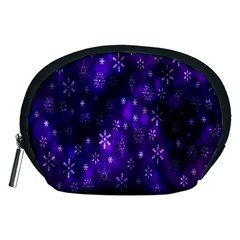 Bokeh Background Texture Stars Accessory Pouches (medium)
