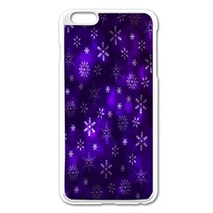 Bokeh Background Texture Stars Apple Iphone 6 Plus/6s Plus Enamel White Case