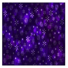 Bokeh Background Texture Stars Large Satin Scarf (square)