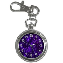 Bokeh Background Texture Stars Key Chain Watches