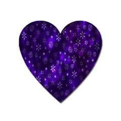 Bokeh Background Texture Stars Heart Magnet