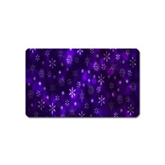 Bokeh Background Texture Stars Magnet (Name Card)