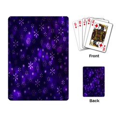 Bokeh Background Texture Stars Playing Card