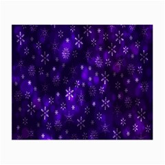 Bokeh Background Texture Stars Small Glasses Cloth (2 Side)