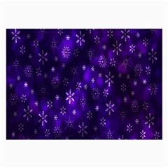 Bokeh Background Texture Stars Large Glasses Cloth (2 Side)