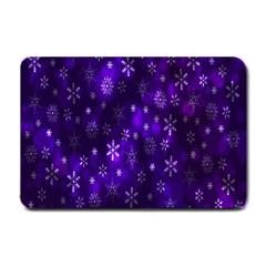 Bokeh Background Texture Stars Small Doormat