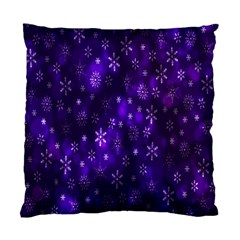 Bokeh Background Texture Stars Standard Cushion Case (two Sides)