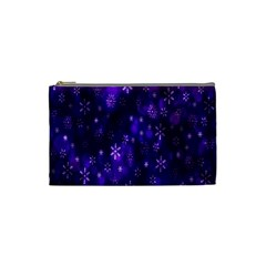 Bokeh Background Texture Stars Cosmetic Bag (small)