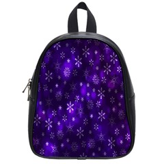 Bokeh Background Texture Stars School Bags (small)