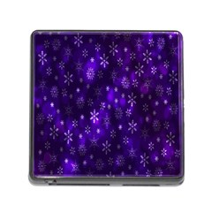 Bokeh Background Texture Stars Memory Card Reader (square)
