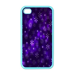 Bokeh Background Texture Stars Apple Iphone 4 Case (color)