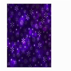 Bokeh Background Texture Stars Small Garden Flag (two Sides)