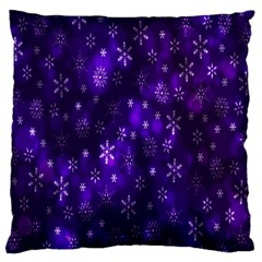 Bokeh Background Texture Stars Large Cushion Case (two Sides)