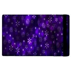 Bokeh Background Texture Stars Apple Ipad 3/4 Flip Case