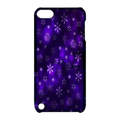Bokeh Background Texture Stars Apple Ipod Touch 5 Hardshell Case With Stand