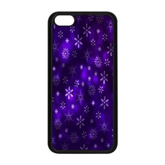 Bokeh Background Texture Stars Apple Iphone 5c Seamless Case (black)