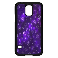 Bokeh Background Texture Stars Samsung Galaxy S5 Case (black)