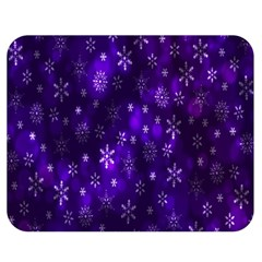 Bokeh Background Texture Stars Double Sided Flano Blanket (medium)