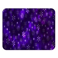 Bokeh Background Texture Stars Double Sided Flano Blanket (large)