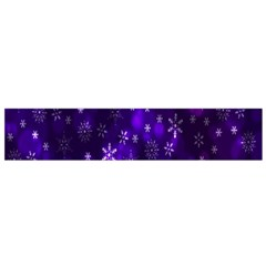 Bokeh Background Texture Stars Flano Scarf (small)