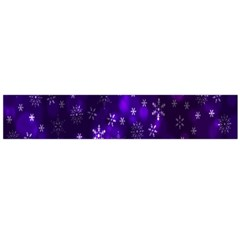 Bokeh Background Texture Stars Flano Scarf (large)