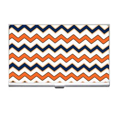 Chevron Party Pattern Stripes Business Card Holders