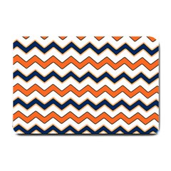 Chevron Party Pattern Stripes Small Doormat