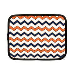 Chevron Party Pattern Stripes Netbook Case (small)