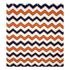Chevron Party Pattern Stripes Shower Curtain 66  X 72  (large)