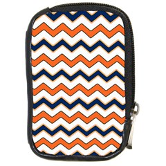 Chevron Party Pattern Stripes Compact Camera Cases