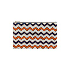 Chevron Party Pattern Stripes Cosmetic Bag (small)
