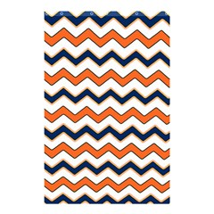 Chevron Party Pattern Stripes Shower Curtain 48  X 72  (small)