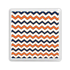 Chevron Party Pattern Stripes Memory Card Reader (square)