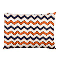 Chevron Party Pattern Stripes Pillow Case (two Sides)