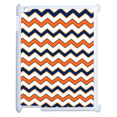 Chevron Party Pattern Stripes Apple Ipad 2 Case (white)
