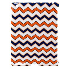 Chevron Party Pattern Stripes Apple Ipad 3/4 Hardshell Case (compatible With Smart Cover)