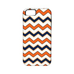 Chevron Party Pattern Stripes Apple Iphone 5 Classic Hardshell Case (pc+silicone)