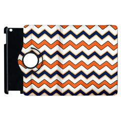Chevron Party Pattern Stripes Apple Ipad 3/4 Flip 360 Case