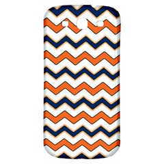Chevron Party Pattern Stripes Samsung Galaxy S3 S Iii Classic Hardshell Back Case