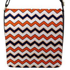 Chevron Party Pattern Stripes Flap Messenger Bag (s)