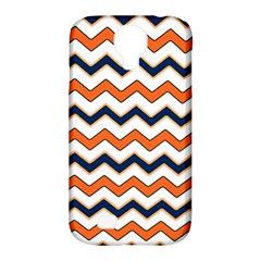 Chevron Party Pattern Stripes Samsung Galaxy S4 Classic Hardshell Case (pc+silicone)