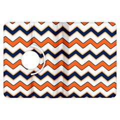 Chevron Party Pattern Stripes Kindle Fire Hdx Flip 360 Case
