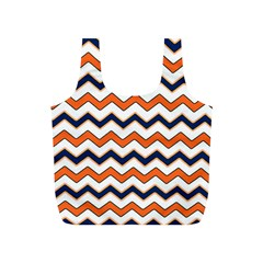 Chevron Party Pattern Stripes Full Print Recycle Bags (s)