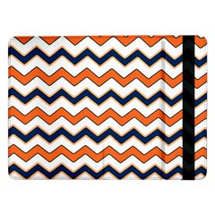 Chevron Party Pattern Stripes Samsung Galaxy Tab Pro 12 2  Flip Case