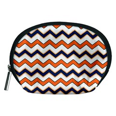 Chevron Party Pattern Stripes Accessory Pouches (medium)